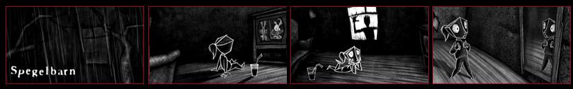 LOOKING GLASS (Spegelbarn) - Horror animation