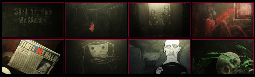 GIRL IN THE HALLWAY - Horror Short